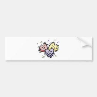 Hug Me Kiss Me Valentine Bumper Sticker