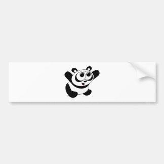 Hug Me Panda Bumper Sticker