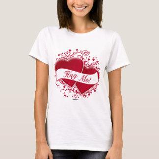 Hug Me! Red Hearts T-Shirt