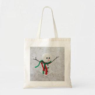 Hug Me Snowman Budget Tote Bag