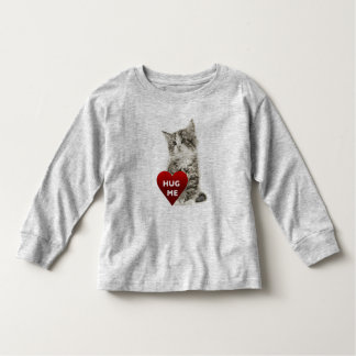 Hug Me - Toddler Long Sleeve T-Shirt Toddler T-Shirt