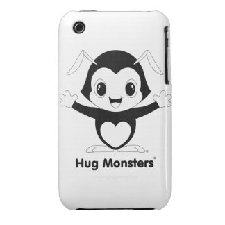 Hug Monsters® iPhone 3G/3GS Case-Mate Barely There iPhone 3 Cover