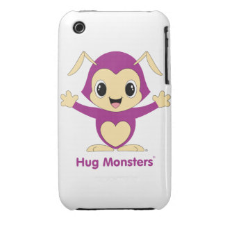 Hug Monsters® iPhone 3G/3GS Case-Mate Barely There iPhone 3 Case-Mate Cases