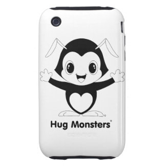 Hug Monsters® iPhone 3G/3GS Case-Mate Tough™ iPhone 3 Tough Covers