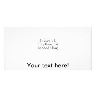 Hug Photo Greeting Card