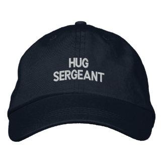 Hug Sergeant Embroidered Baseball Caps