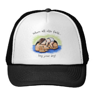 Hug Your Dog Cap