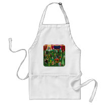 Huge and Happenin Holiday Party Standard Apron