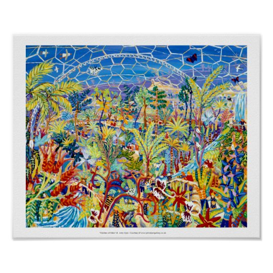 Huge Art Print: The Eden Project by John