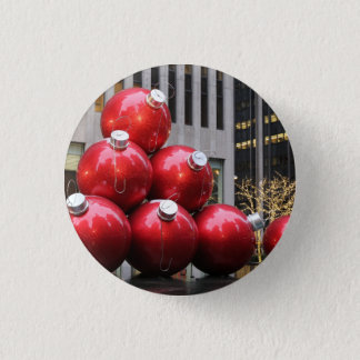 Huge Christmas Ball Ornaments in NYC 3 Cm Round Badge