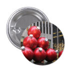 Huge Christmas Ball Ornaments in NYC Pin
