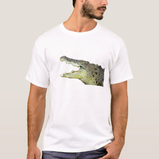 Huge crocodile jaws wide open T-Shirt