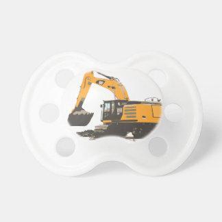 Huge Dirt Excavator Baby Pacifiers