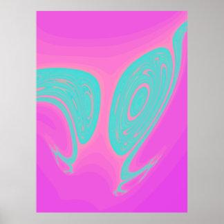 Huge Fractal Art Poster 6/19
