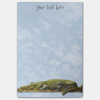 Huge Gator Panoramic Photo - Text Template Post-it® Notes