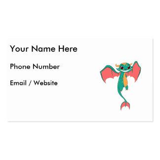 Huge Grin Mythical Flying Dragon Pack Of Standard Business Cards
