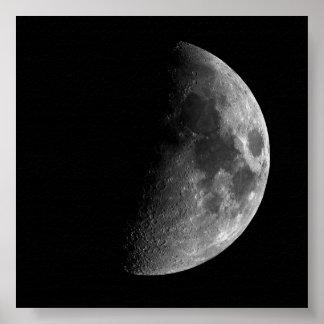 Huge Half Moon Print