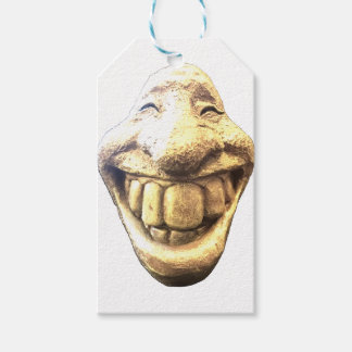 Huge Happy Face Gift Tags