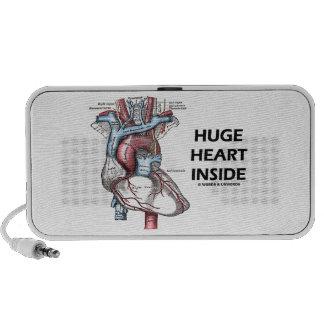 Huge Heart Inside Anatomical Heart Travelling Speakers