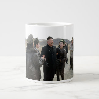 Huge Kim Jong Un Fan Club North Korea Coffee Mug