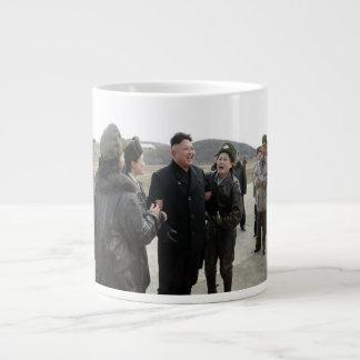 Huge Kim Jong Un Fan Club North Korea Coffee Mug Jumbo Mug
