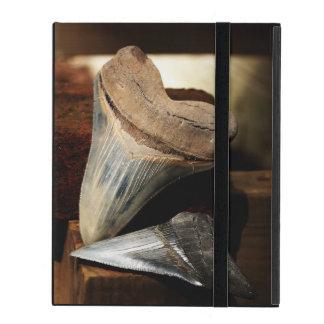 Huge Megalodon Fossil Shark Teeth iPad Covers