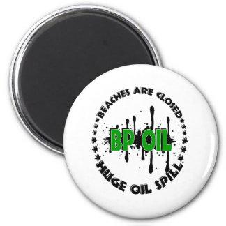 HUGE OIL SPILL REFRIGERATOR MAGNETS