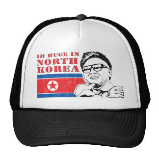 huge only in north korea - kim jong il hat