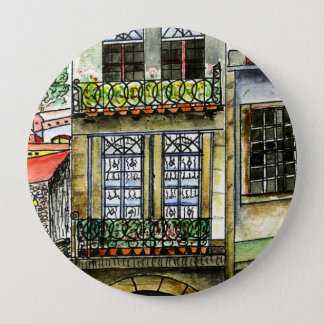 Huge round Button 4 inches Portugal house