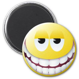 Huge Smile Smiley Face Refrigerator Magnets