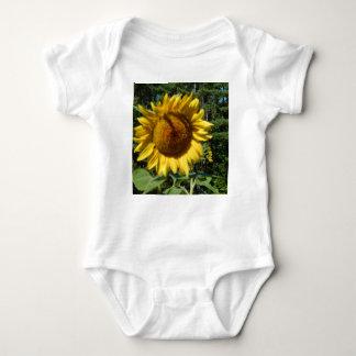 Huge Sunflower Baby Bodysuit
