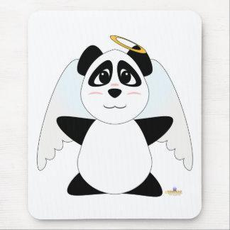 Huggable Angel Panda Bear Mouse Mat