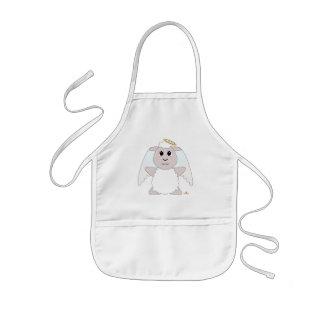 Huggable Angel White Sheep Kids' Apron