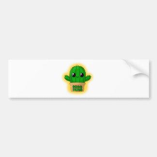 Huggable Cactus Bumper Sticker