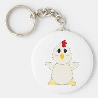 Huggable Chicken Key Chain