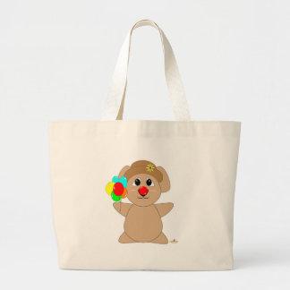 Huggable Clown Koala Bear Canvas Bags
