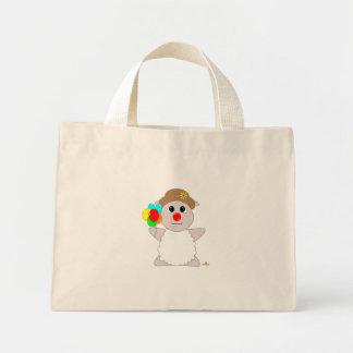 Huggable Clown White Sheep Bags