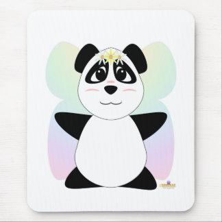 Huggable Fairy Panda Bear Mouse Pad