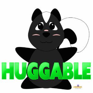 Huggable Skunk Green Huggable Acrylic Cut Outs