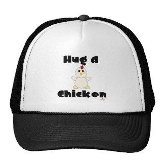 Huggable White Chicken Hug A Chicken Hat