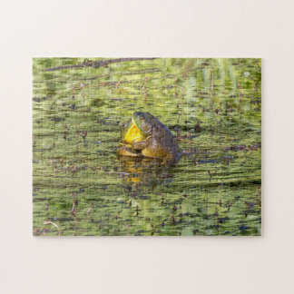 Hugging Frogs Jigsaw Puzzle