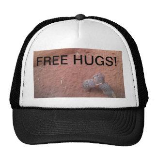 HUGGING MEERKATS TRUCKER HAT