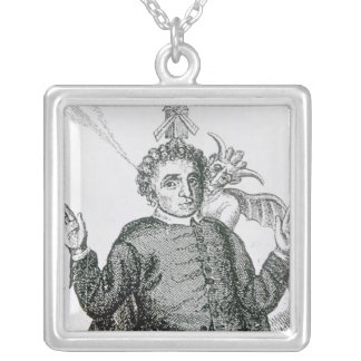 Hugh Peter  fiery army preacher Silver Plated Necklace