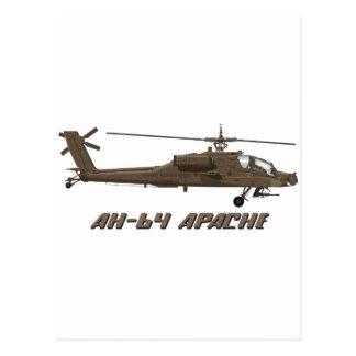 Hughes AH-64 Apache Post Card