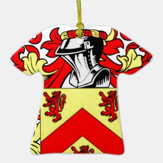 Hughes (Irish) Coat of Arms Ornament