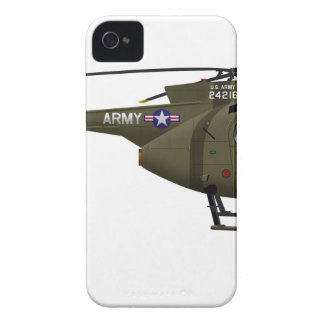 Hughes OH-6 Cayuse Cav iPhone 4 Cases