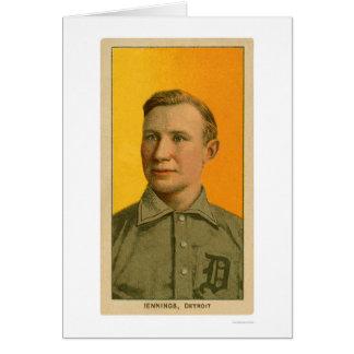 Hughie Jennings Baseball 1909 Card