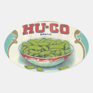 Hugo Brand Oval Sticker