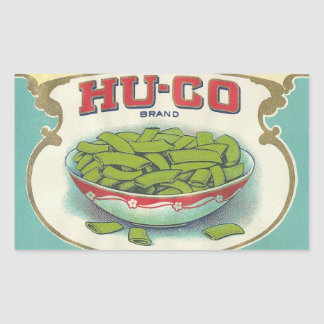 Hugo Brand Rectangular Sticker