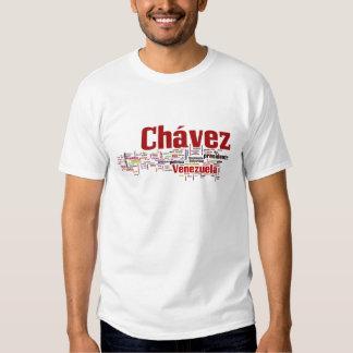 Hugo Chavez - Many Colorful Words style T-shirts
